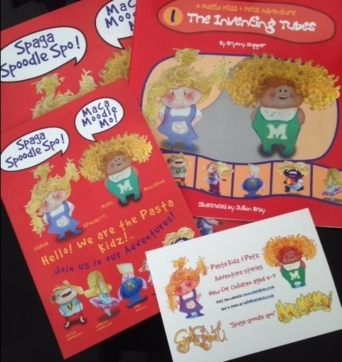 Children's Book Review – Pasta Kidz – The Inventing Tubes By BryonySupper