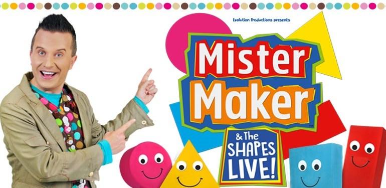 Mister Maker & The Shapes LiveReview